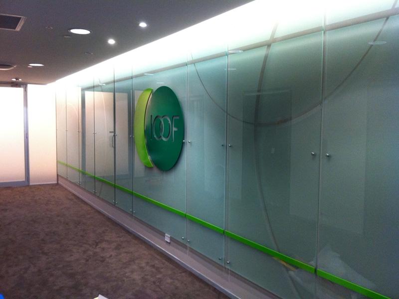 Decorative Glass Windows Privacy Film Studio Line